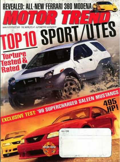 Motor Trend - May 1999
