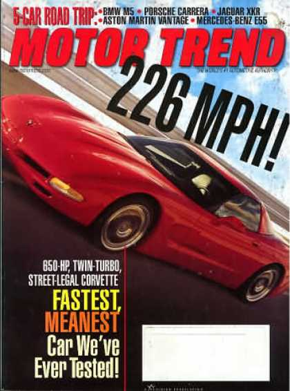 Motor Trend - March 2000