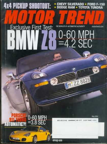 Motor Trend - May 2000