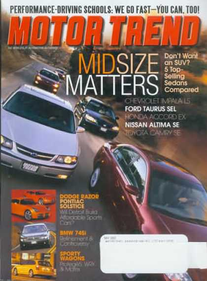 Motor Trend - May 2002