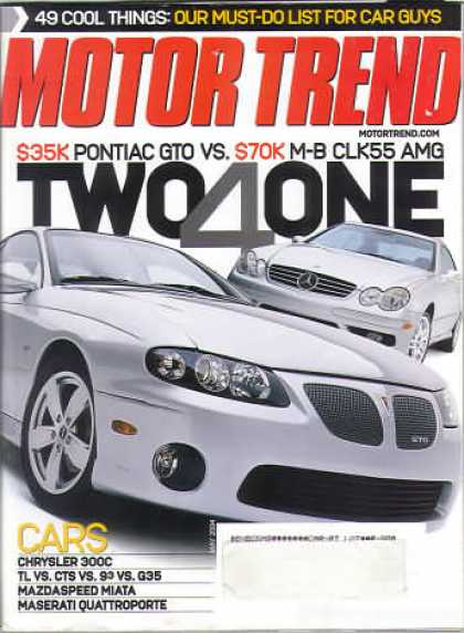 Motor Trend - May 2004