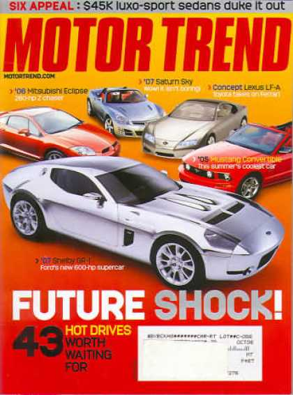 Motor Trend - March 2005