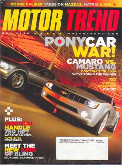 Motor Trend - May 2006