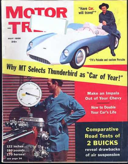Motor Trend - May 1958