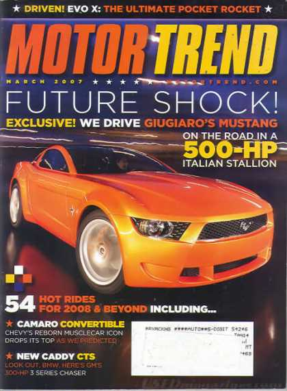 Motor Trend - March 2007