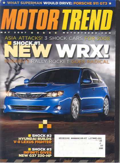 Motor Trend - May 2007
