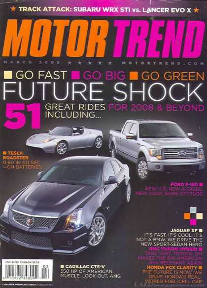 Motor Trend - March 2008