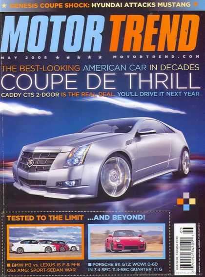 Motor Trend - May 2008