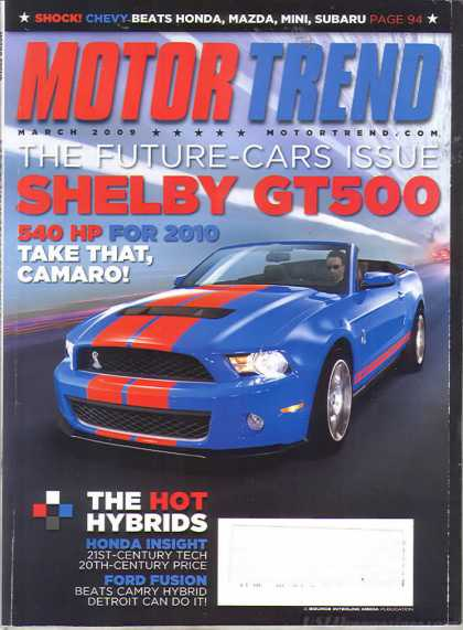 Motor Trend - March 2009