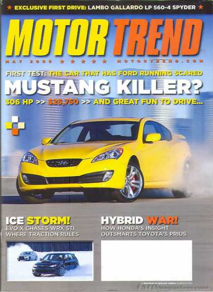 Motor Trend - May 2009