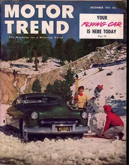 Motor Trend - December 1951