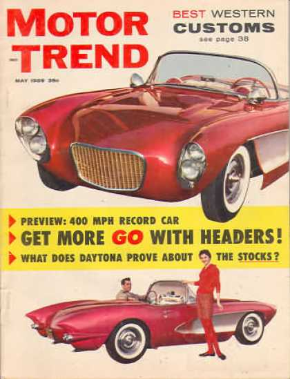 Motor Trend - May 1959