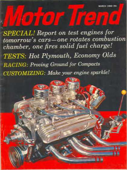 Motor Trend - March 1960