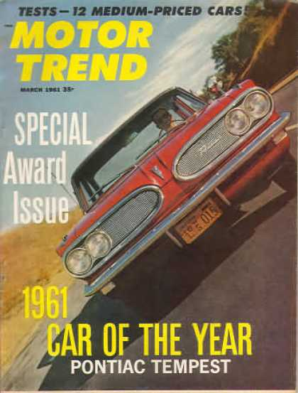 Motor Trend - March 1961