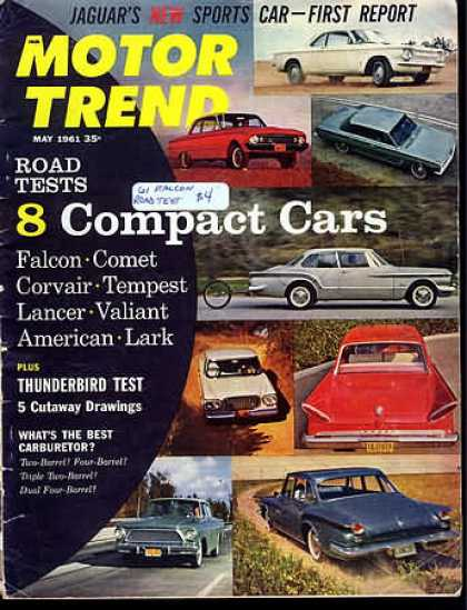 Motor Trend - May 1961