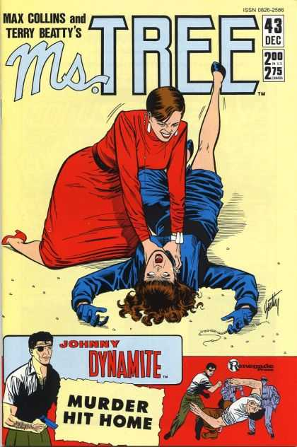Ms. Tree 43 - Murder - Johnny Dynamite - Strangling - Gun - Fighting