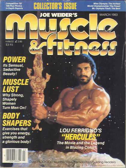 Muscle & Fitness - March 1983