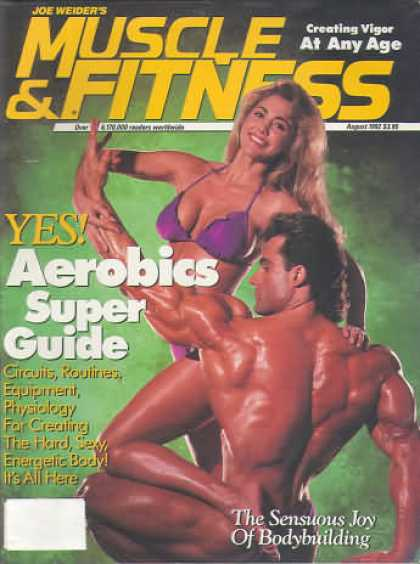 Muscle & Fitness - August 1992