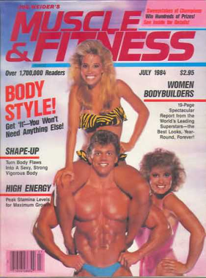 Muscle & Fitness - July 1984