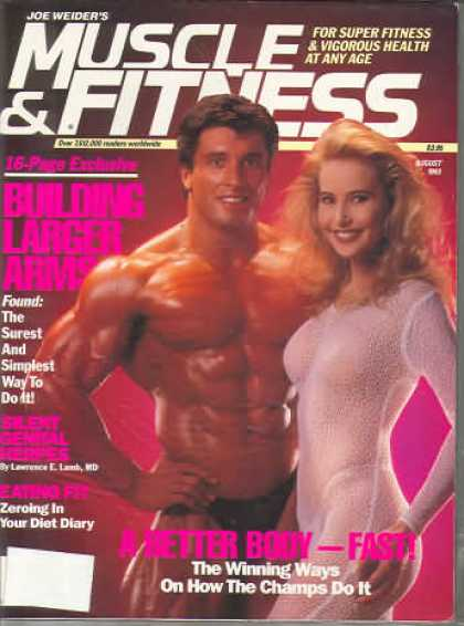 Muscle & Fitness - August 1993
