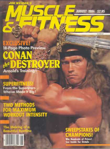 Muscle & Fitness - August 1984