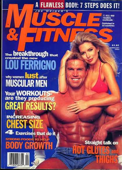 Muscle & Fitness - February 1994