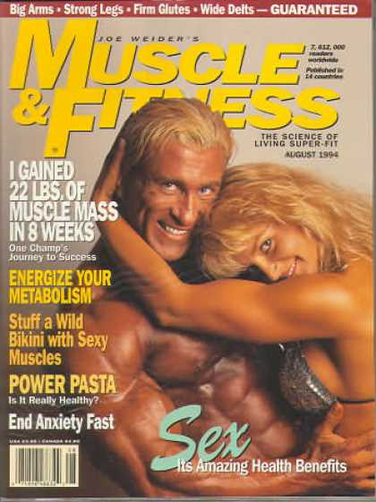 Muscle & Fitness - August 1994