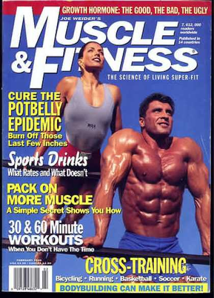 Muscle & Fitness - February 1995