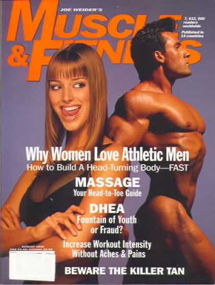 Muscle & Fitness - August 1995