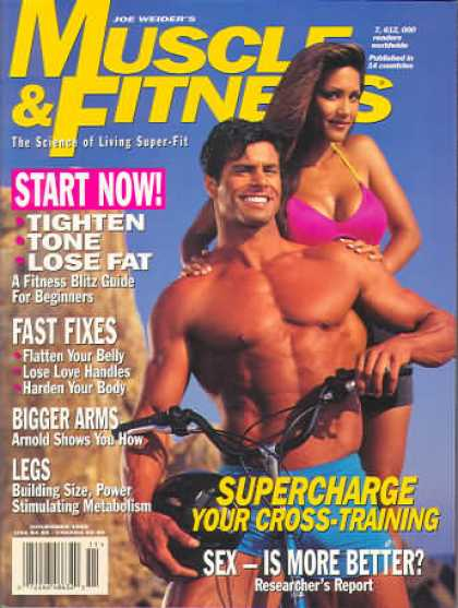 Muscle & Fitness - November 1995