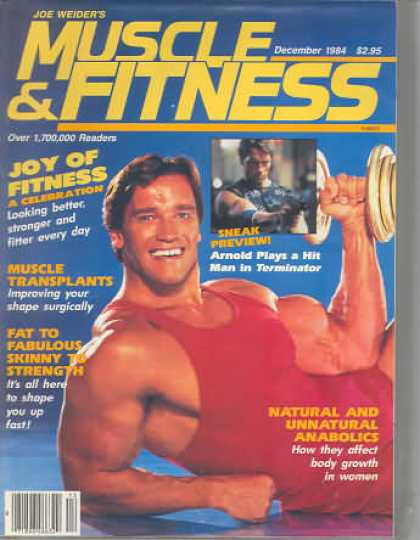 Muscle & Fitness - December 1984