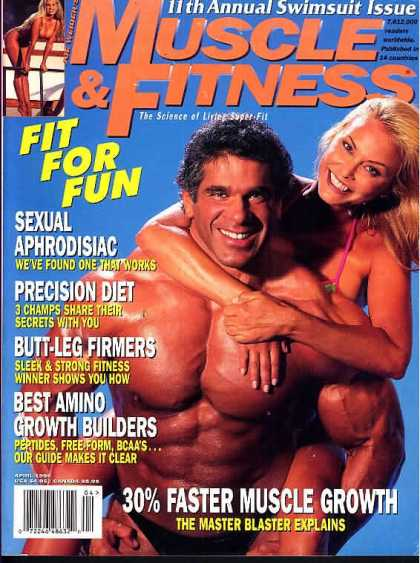 Muscle & Fitness - April 1996