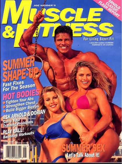Muscle & Fitness - June 1996
