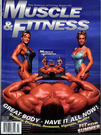 Muscle & Fitness - July 1996