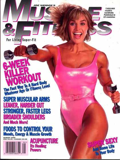 Muscle & Fitness - August 1996