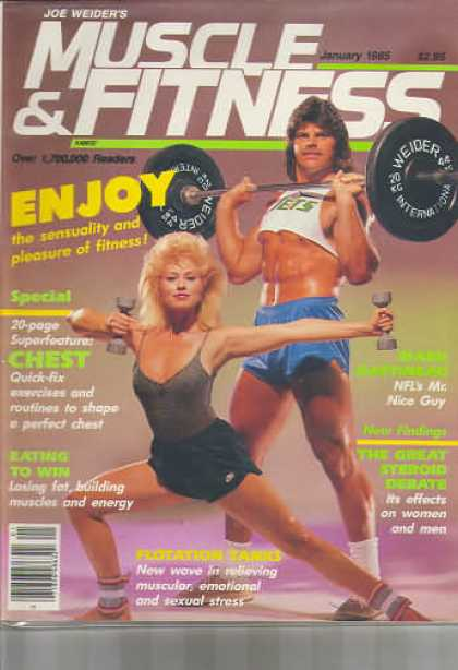 Muscle & Fitness - January 1985