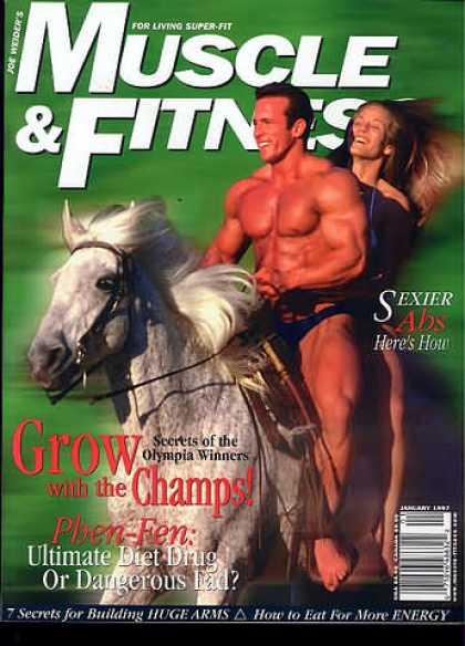 Muscle & Fitness - January 1997