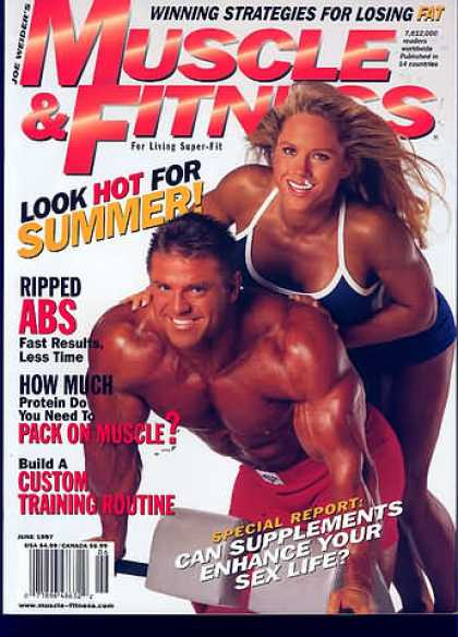 Muscle & Fitness - June 1997