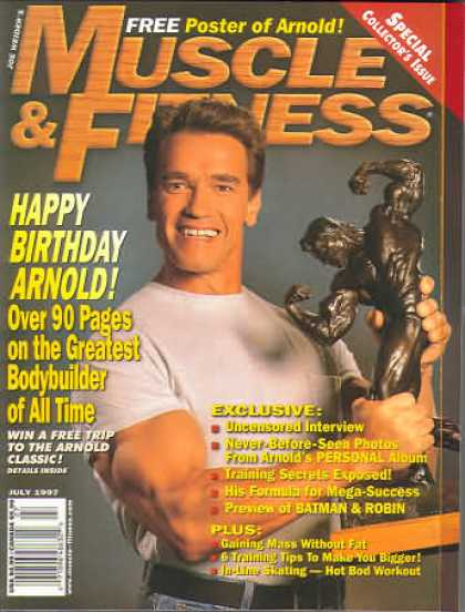 Muscle & Fitness - July 1997