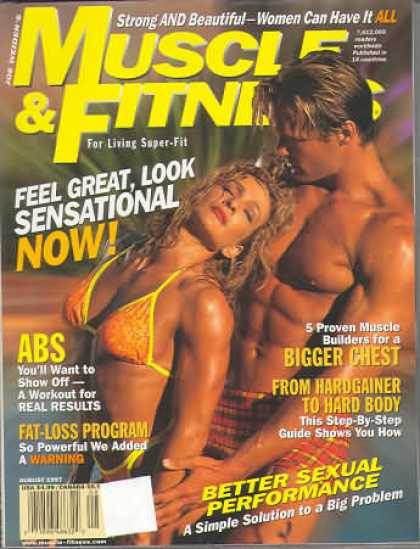 Muscle & Fitness - August 1997