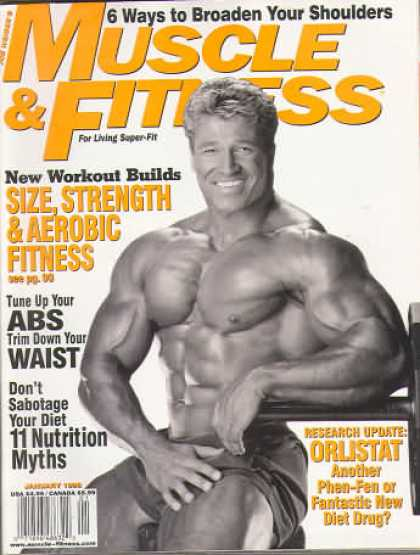 Muscle & Fitness - January 1998