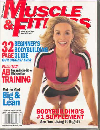 Muscle & Fitness - February 1998