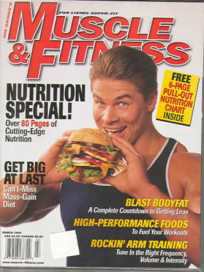 Muscle & Fitness - March 1998