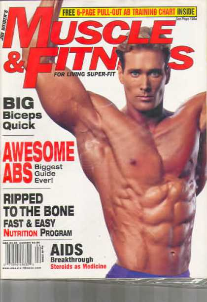 Muscle & Fitness - April 1998