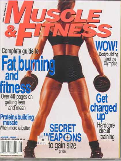 Muscle & Fitness - June 1998
