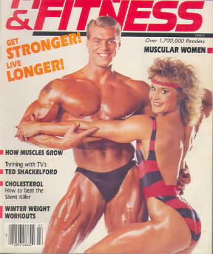 Muscle & Fitness - March 1985