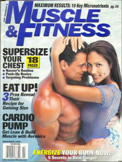 Muscle & Fitness - November 1998