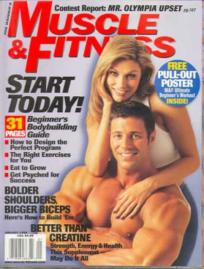 Muscle & Fitness - January 1999