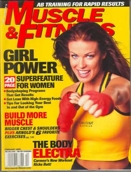 Muscle & Fitness - February 1999