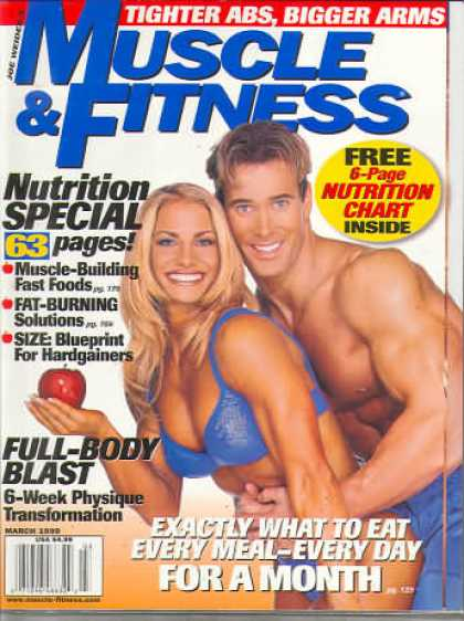 Muscle & Fitness - March 1999